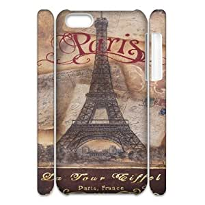 taoyix diy Paris Tower Print 3D-Printed ZLB531273 Custom 3D Phone Case for Iphone 5C