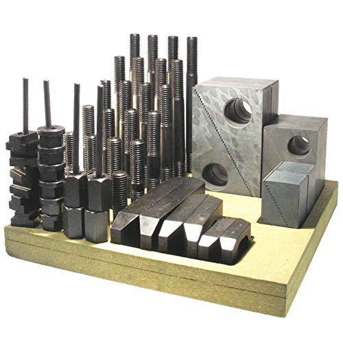 US Made Metric 52 pc Clamping Kit - M10 Stud; 12 Table Slot - Northwestern 11510 by Northwestern Tools (Image #1)