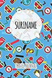 Suriname Travel Journal: 6x9 Travel planner I Road trip planner I Dot grid journal I Travel notebook I Travel diary I Pocket journal I Gift for Backpacker