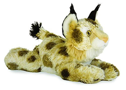 Aurora World Inc  12 inches  Bobby The Bobcat Flopsie (Animals Bobcat)