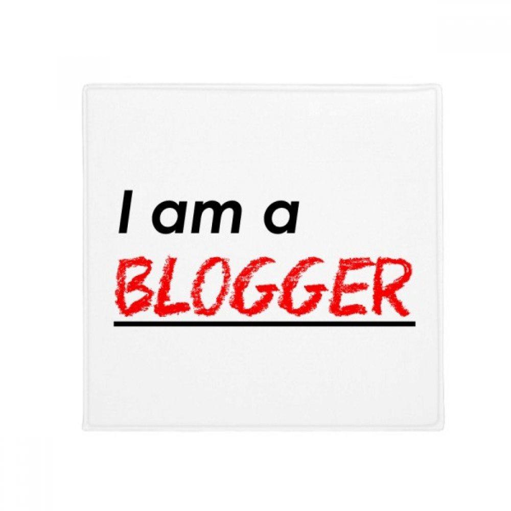 DIYthinker Quote I Am A Blogger Anti-Slip Floor Pet Mat Square Home Kitchen Door 80Cm Gift