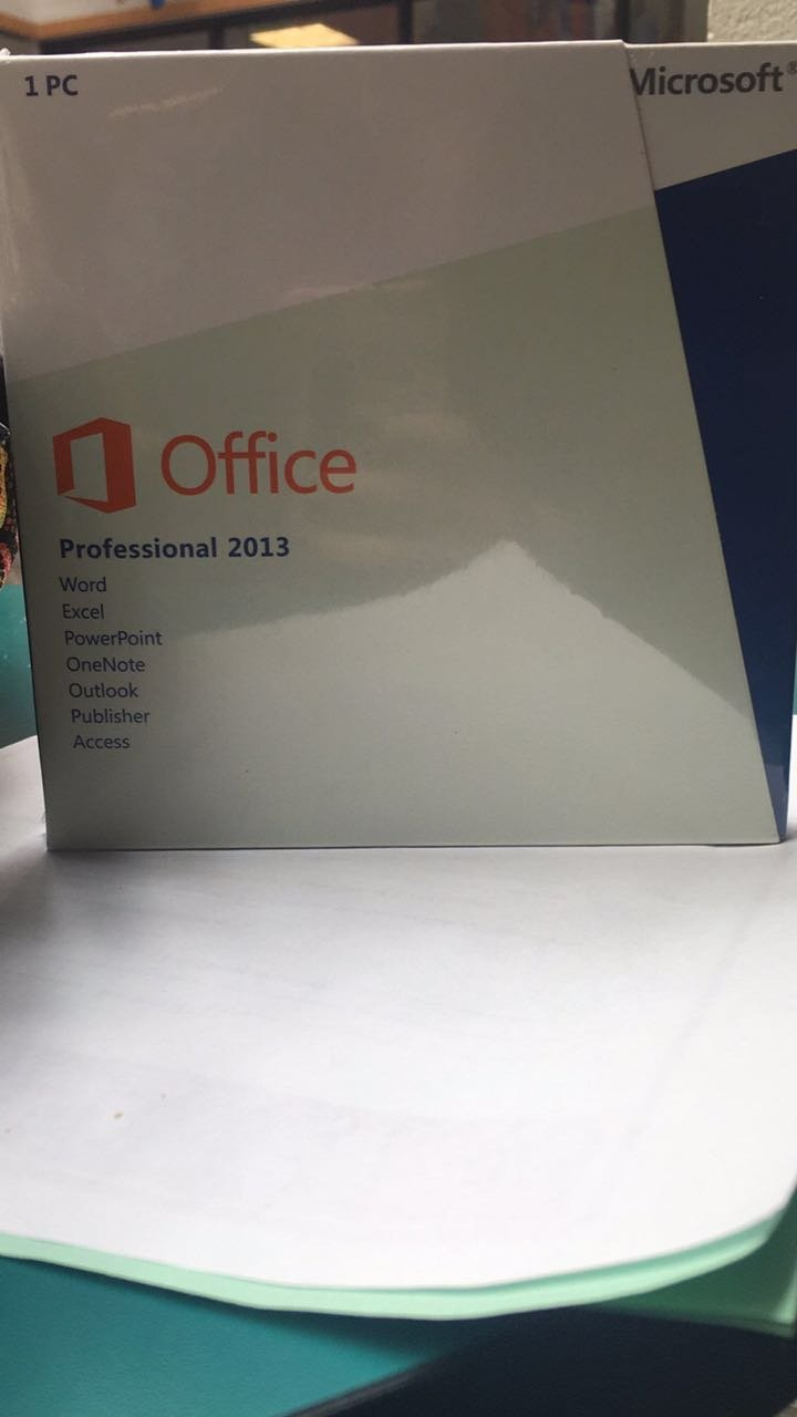 Microsoft Office Professional 2013 32/64 Bit With Dvd For 1 Pc 4