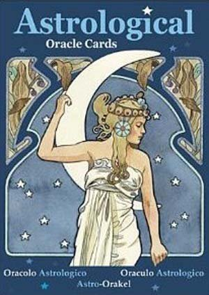 Party Games Accessories Halloween Séance Tarot Cards Astrological Oracle cards by Lunaea Weatherstone by AzureGreen
