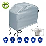 """Hentex Cover 60-Inch (60""""L44""""H) BBQ Grill Cover 5310, Water Resistant, Breathable, Scratch-free Soft interior, advanced functional 3-layered fabric, 3 Year Warranty (60"""") Review"""