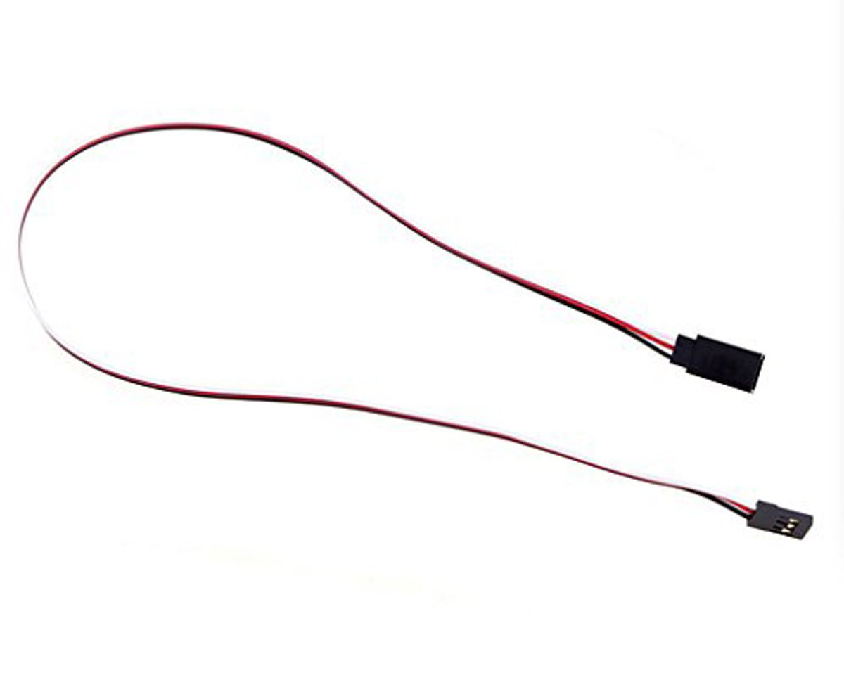 YXQ CECOMINOD002291 20Pcs 10//20//30 Pcs Red White Black 3 Terminal Male to Female Servo Extension Lead Wire Cable 300mm for RC Airplane