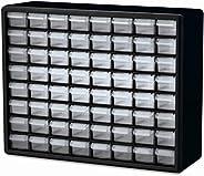 "Akro-Mils 10764 64 Drawer Plastic Parts Cabinet, 20"" x 15.75&qu"