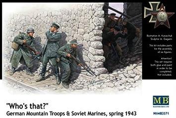 1/35 German mountain soldiers and Soviet Marines (japan import): Amazon.es: Juguetes y juegos