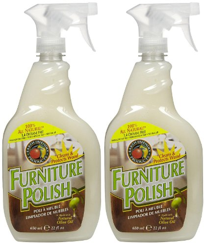 Earth Friendly Products Furniture Polish Spray - 22 oz - 2 (Natural Furniture Polish)