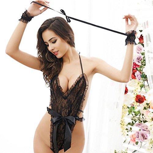ef1fd31aae46f Kollmert Fashion Seductive Women s G-String Teddy Underwear Bodysuit ...