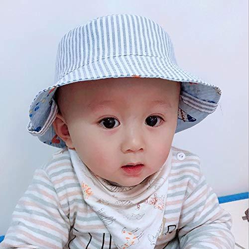Xrten Berretto per Bambino,Cappello di Protezione solare Bambino con Chiusura Regolabile con Velcro