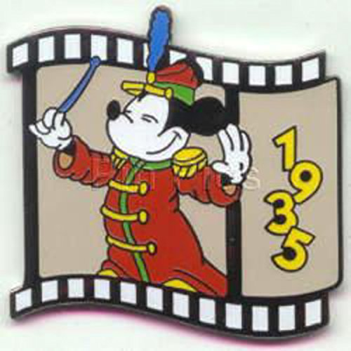 (#6 Disney Pin 725: DS - Countdown to the Millennium Series #6 (Band Leader Mickey) Pin )