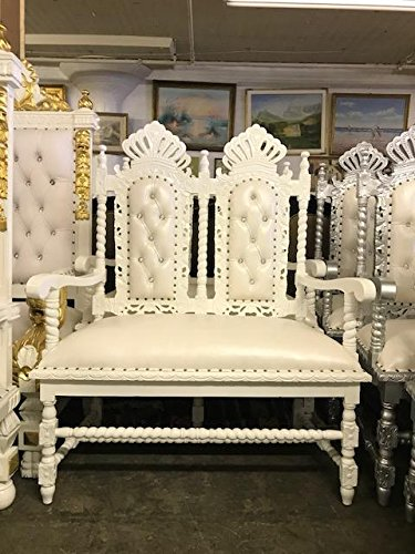 Amazon Crown Double Throne Chair High Back Throne Chair King