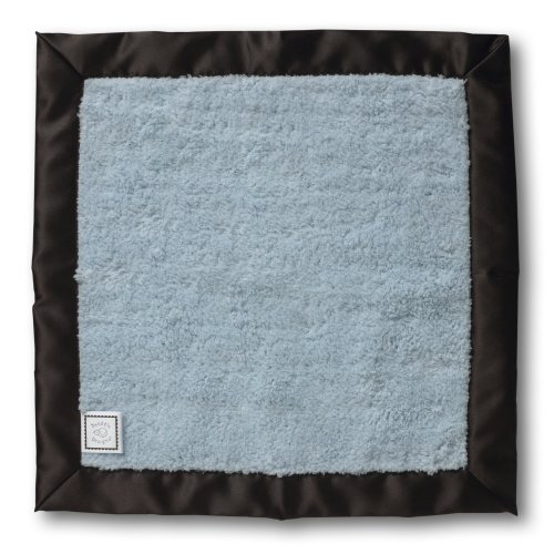 SwaddleDesigns Essentials, Set of 8 - Pastel Blue with Chocolate Brown by SwaddleDesigns (Image #4)