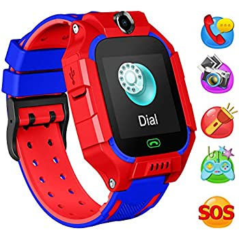 Amazon.com: TURNMEON Smart Watch for Kids-1.54 Touch Kids ...
