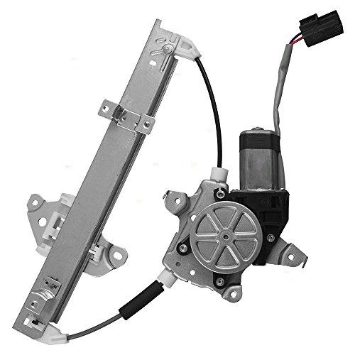 Drivers Rear Power Window Lift Regulator w/Motor Assembly Replacement for Nissan Altima Maxima 82731-JA00A AutoAndArt - Maxima Driver Rear Window
