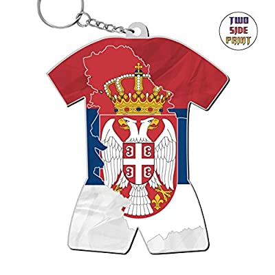 AACCHat Argentina Flag 2018 World Cup Russia Custom Exquisite Key Chains Keyrings Handbag Chain