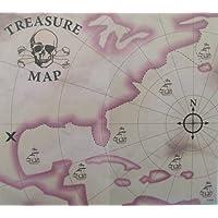 """2 docenas de 7 """"Novedad Pirate Treasure Maps"""
