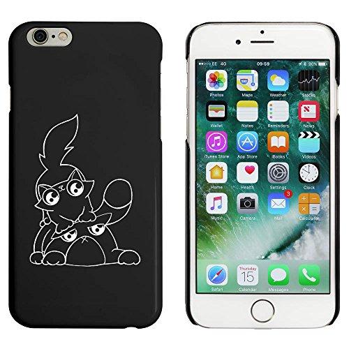 Noir 'Jouer des Chats' étui / housse pour iPhone 6 & 6s (MC00001253)