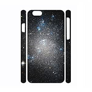 Customized Dustproof Galaxy Pattern Hard Plastic Phone Shell for Iphone 6 Plus Case - 5.5 Inch