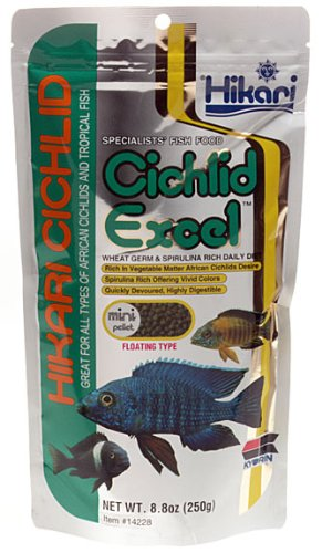 Cichlid Excel Pellets – Medium – 8.8 oz., My Pet Supplies