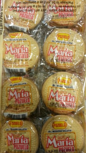 Maria Cookies By Pozuelo (Galletas Maria) 2 Pack (24 Units Pack)