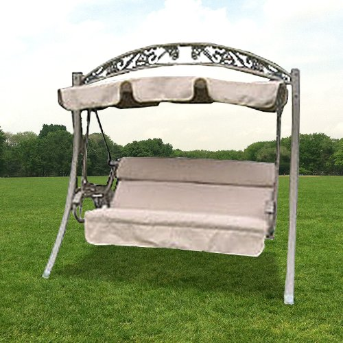 Beau Amazon.com : Arched Frame Swing 754222 Replacement Canopy Top Cover    RipLock 350 : Garden U0026 Outdoor