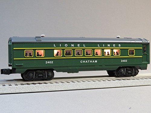 LIONEL POSTWAR Green Coach CAR Chatham #2402 o Gauge