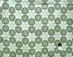 Amy Butler AB35 Daisy Chain Mosaic Green Fabric By The Yard ()