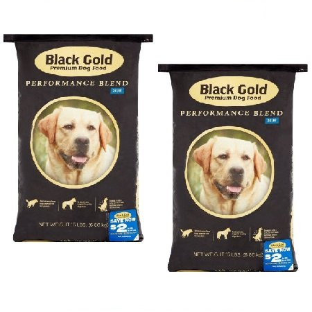 Black Gold Pet Foods Premium Performance, 26/18, 15 lbs (2 Pack)