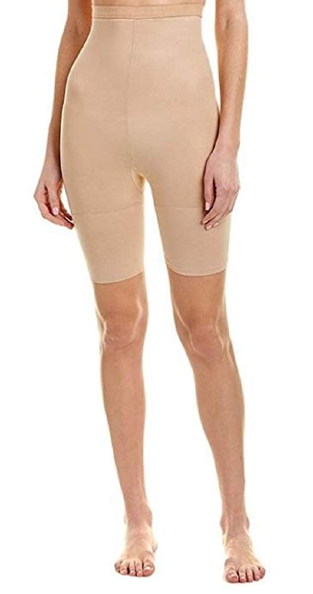 ebf134e83 SPANX Star Power Women s Tame To Fame High-Waist Mid-Thigh Shaper at Amazon  Women s Clothing store