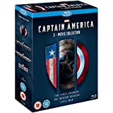 Captain America 3 Movie Collection [Blu-ray] [Region Free]