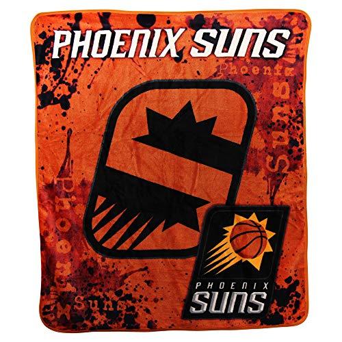 Suns Phoenix Throw - The Northwest Company NBA Drop Down Super Soft Plush Throw Blanket (Phoenix Suns)