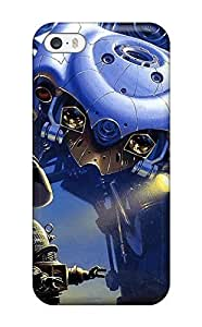 Oscar M. Gilbert's Shop Top Quality Case Cover For Iphone 5/5s Case With Nice Robot Appearance 6958475K48855957