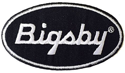 Gretsch Bigsby Logo Embroidered Iron-on Patch