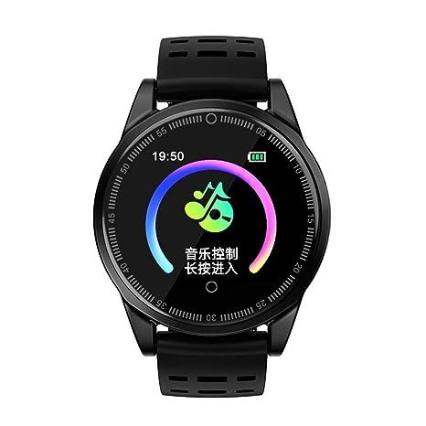 Cebbay Reloj Inteligente Pulsera Inteligente Pantalla Color Reloj Impermeable IP68 con Monitor de Ritmo Cardíaco