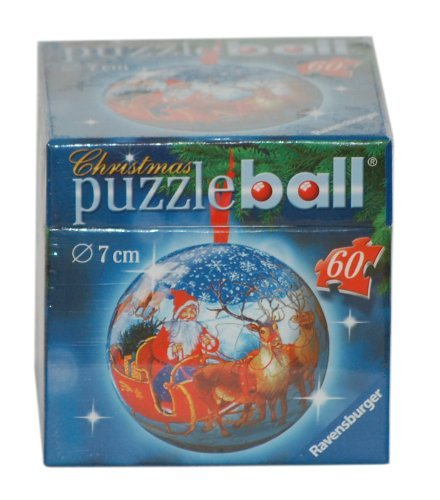 Ravensburger Puzzleball Christmas Ornament - Santa and Sleigh