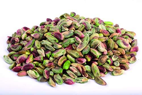 Pistachos crudos orgánicos 1 kg BIO nueces, pelados y descascarillados con piel. granos sin tostar y sin sal, fuente natural de melatonina 1000g: Amazon.es: ...