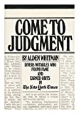 Come to Judgment, Alden Whitman, 067023169X