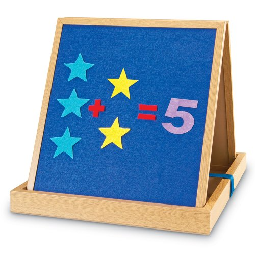 (Learning Resources Double-sided Tabletop Easel)