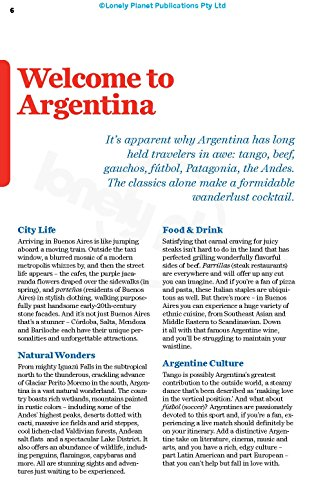 Lonely Planet Argentina (Travel Guide) - 510 J5rwHUL