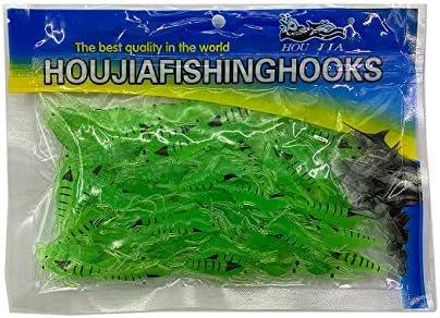 Details about  /5Pcs Glow In Dark Vivid Fishing Baits Soft Prawn Shrimp Lure Outdoor Hook Proper