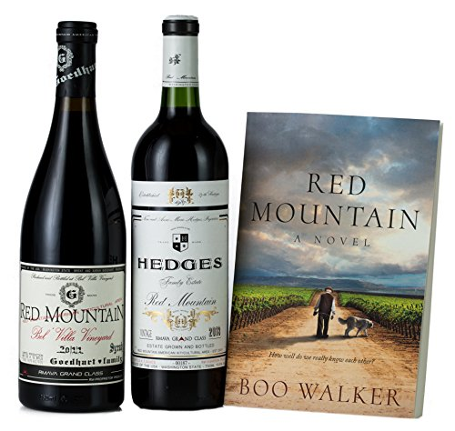 Hedges Family Estate Ooh la la! Romance et Terroir! Gift Set with Red Mountain, A Novel, 2 X 750 mL