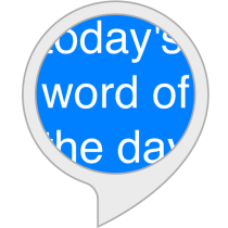 Today's Word of the Day