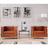 Flash Furniture Chaises Longues, Cognac