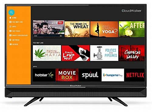 CloudWalker 80 cm (32 Inches) HD Ready LED Smart TV Cloud TV 32SHX2 (Black)