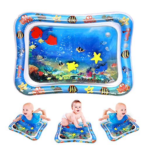 Yabot Premium Inflatable Tummy Time Water Mat
