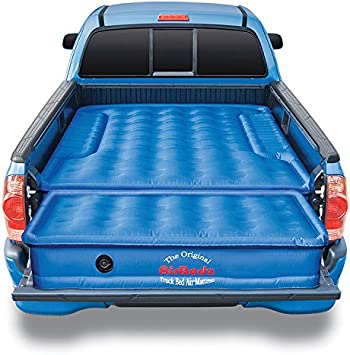 AIRBEDZ Nylon Air Mattress with Built-In Pump for Mid-Size Truck 5.5-5.8/' Bed