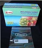 zip lock freezer - 300 Quart Size 7x8