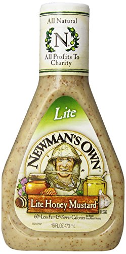 Newman's Own Honey Mustard Dressing - 16 (Low Calorie Salad Dressing)