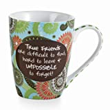 Mud Pie True Friends Love Mug